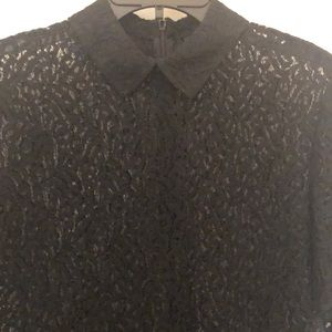 Black Lace blouse by The Kooples size 3 or large